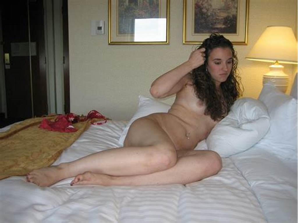 #Curly #Haired #Brunette #Teen #Posing #In #A #Motel #Room #041
