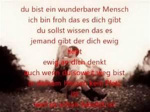 Du Bist Ein Kamener : du bist ein teil meines lebens lyrics youtube ~ Watch28wear.com Haus und Dekorationen