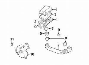 Saturn Aura Engine Air Duct Insulator  Liter  Intake