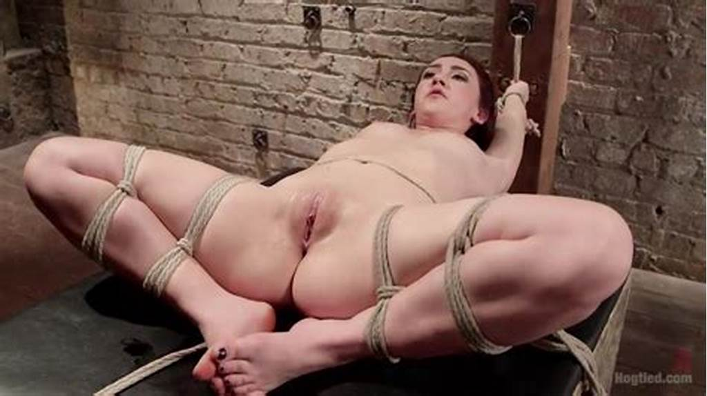 #Mistress #Hitting #Bound #Slave'S #Pussy #With #A #Stack