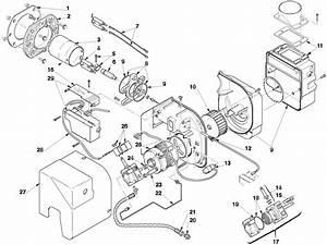 Riello Rdb 2 2 Oil Burner Parts