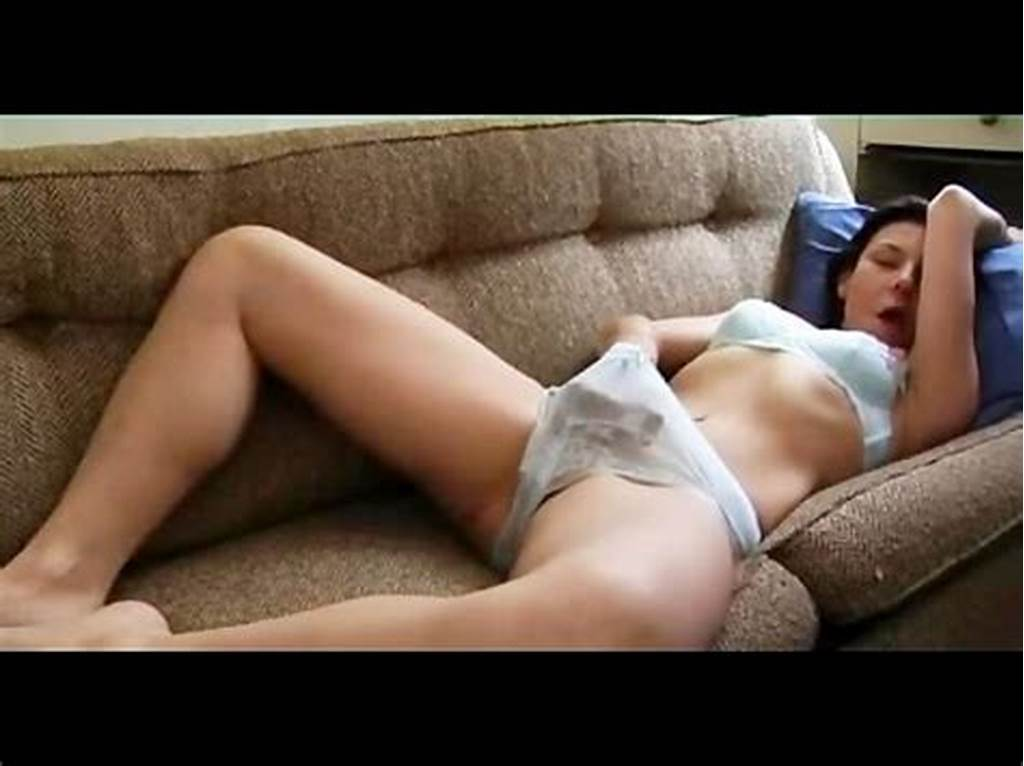 #Milf #Hand #In #Pants #On #Sofa
