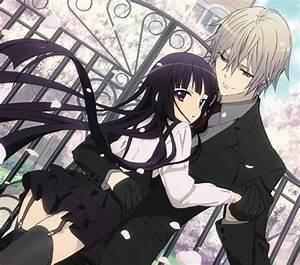 Video X Couple : anime art anime couple romantic love sweet embrace long hair garters ~ Medecine-chirurgie-esthetiques.com Avis de Voitures