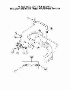 Alliance Model Awn542sp111tw01 Residential Washers Genuine