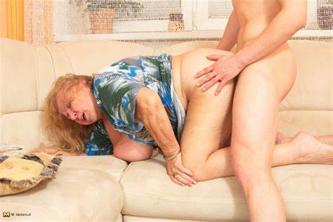 Perky Granny And Her Boytoy This Large Titted Mama Taking A Nice Pounding From Her Strapon Stepdaddy