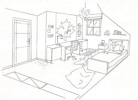 dessin de chambre chambre enfant dessin des idées novatrices sur la