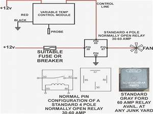 Relay Wiring Diagram 5 Pin Dc