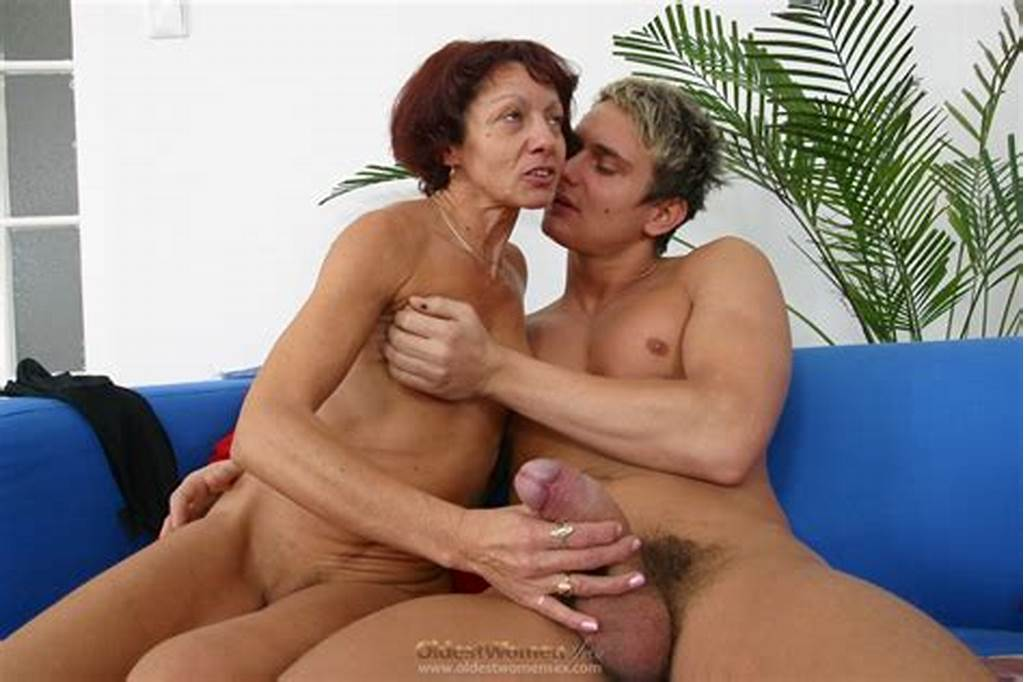 #Pretty #Old #Woman #Is #Happy #To #Play #With #A #Big #Cock