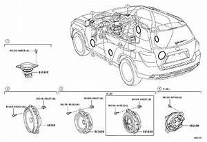 Toyota Highlander Speaker  Front