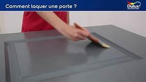 comment laquer une porte youtube With comment caler une porte