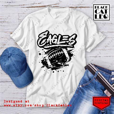 Register/login to download this free svg file. Grunge Eagles design sublimation PNG, American Football ...