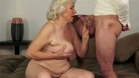 Unshaved Granny Drilled Loves Hell