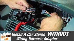 2003 Malibu Radio Wiring Harness Colors : how to install a radio without a wiring harness adapter ~ A.2002-acura-tl-radio.info Haus und Dekorationen
