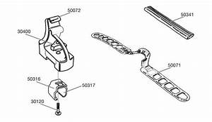 Spare Parts For   Thule Surboard Holder 554