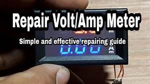 Ep-58 Repair Volt  Amp Meter Chinese