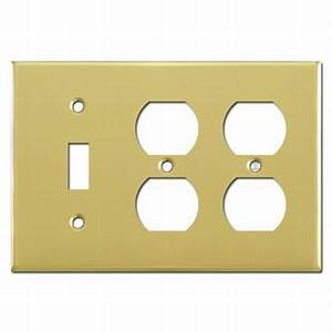 Single Toggle  Double Duplex Switch Plates