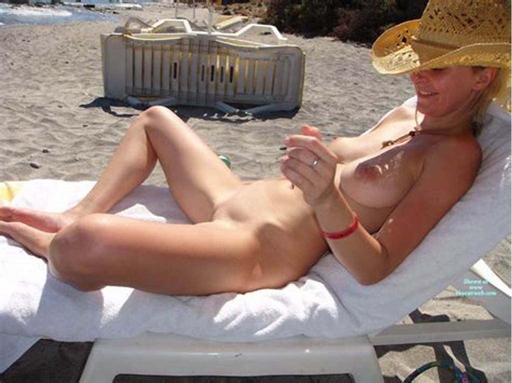 #Shaved #Nude #In #Beach #Lounger