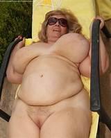 Mature granny fat amateur