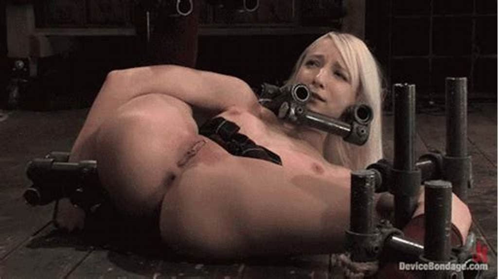 #Blonde #Girl #Receiving #Hard #Pussy #Whipping