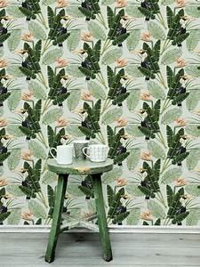 vogeltapete birds of paradise von mind the gap 3213 With markise balkon mit mind the gap tapete