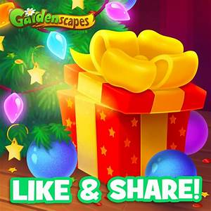 Gardenscapes - Join our Christmas GIVEAWAY 🎁 and win ...