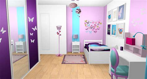 photo de chambre fille chambre violet pour fille design de maison