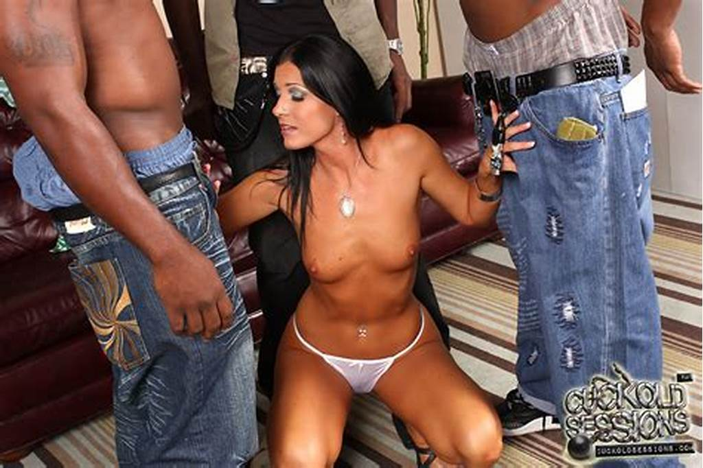 #India #Summer #Gets #Gangbanged #By #Blacks #In #Front #Of #Hubby