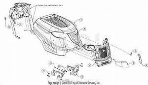 Troy Bilt 13wv78ks011 Bronco  2016  Parts Diagram For Grille