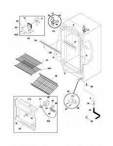 Frigidaire Ffu11fk1cw0 Upright Freezer Parts