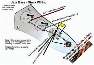 Bass Wiring Diagram 2 Volume 1 Tone