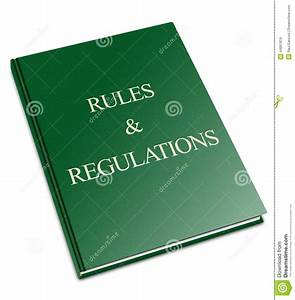 Rules And Regulations Stock Photo  Illustration Of Follow