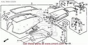 Honda Gl1100 Goldwing Aspencade 1983  D  Usa Fuel Tank