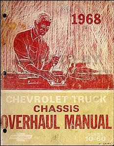 1968 Chevy Pickup And Truck Cd Repair Shop Manual And