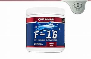 F-16 Pre-workout Review