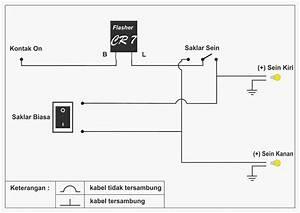 Cara Mudah Dan Murah Membuat Lampu Hazard Di Motor