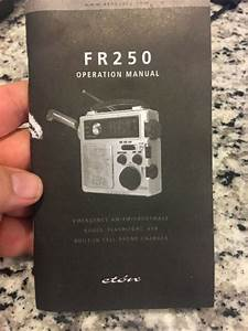 Eton Fr250 Radio Original Manual