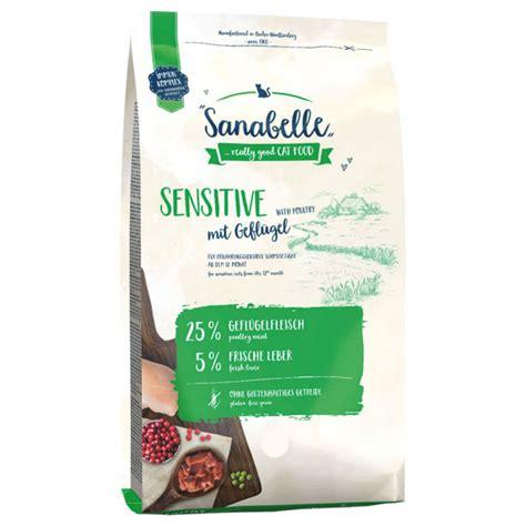 Sanabelle Sensitive Poultry sausā barība kaķiem ar jutīgu ...