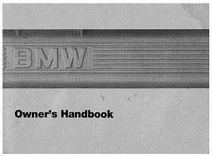 Bmw E28 528e 535i S M5 Owners Handbook