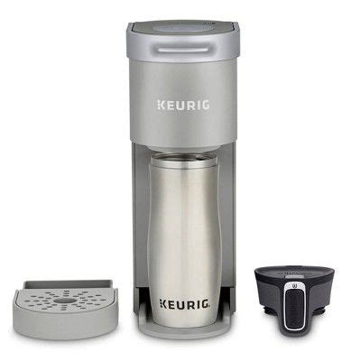 Most keurig coffee makers are single serve machines that can take three basic sizes which are 6, 8, and 10 oz. Keurig K-Mini Single-Serve K-Cup Pod Coffee Maker - Gray (With images) | Pod coffee makers ...
