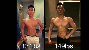 Natural 15lbs In 6 Month Lean Bulk Transformation