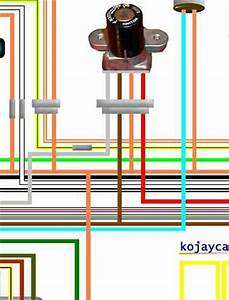Suzuki Gs400  Gs425  Gs450 Laminated Wiring Circuit Loom
