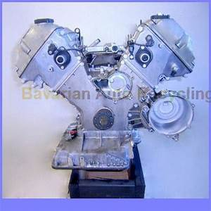 Engine Assembly Long Block 1999 2000 2001 Bmw 740il E38