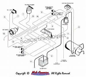 Club Car Villager 8 Voltage Regulator 1017238 Wiring Diagram