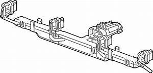 Hummer H3t Engine Wiring Harness  Liter  Wire  Plug