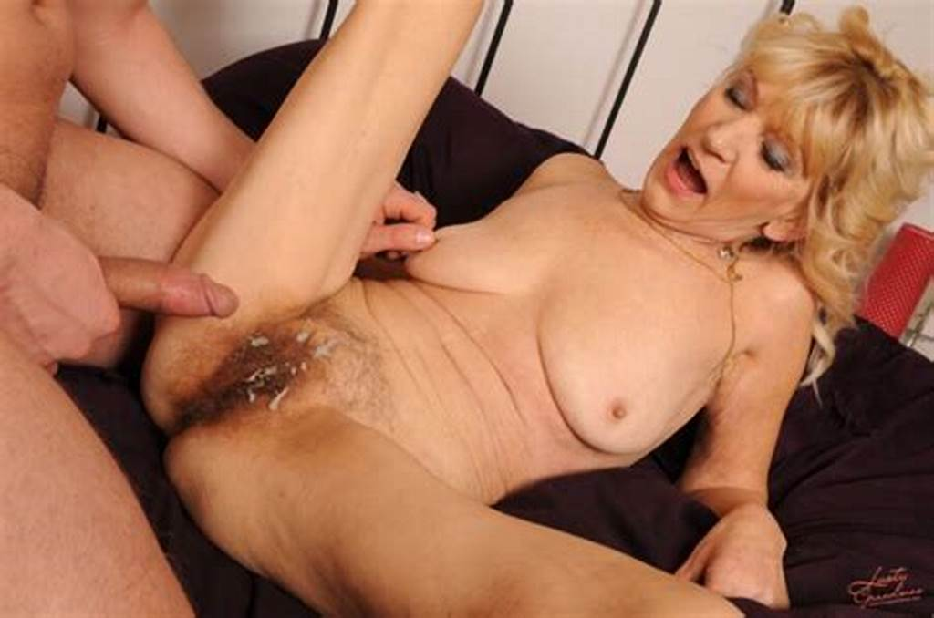#Gorgeous #Blonde #Granny #Gets #A #Hard #Fucking