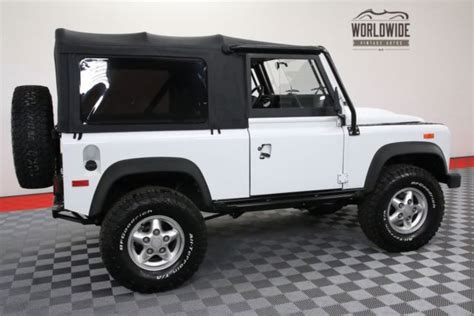 We took this new defender 90 xs station wagon finished in very rare havana pearl flip paint finish which gives you a. 1994 White OVER THE TOP BUILD LS CONVERSION! AUTO! for ...