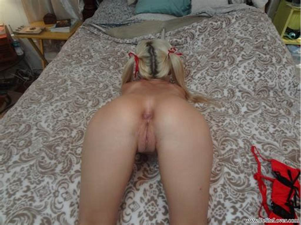 #Pigtailed #Blonde #Teen #Slut #In #A #Red #Sexy #Li