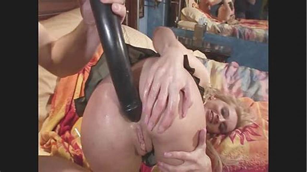 #Blonde #Bitch #Kelly #Wells #Loves #Dildo #And #Cock #In #The #Ass