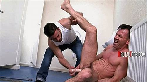 An Explosive Dildo Suck Session #Brutaltops