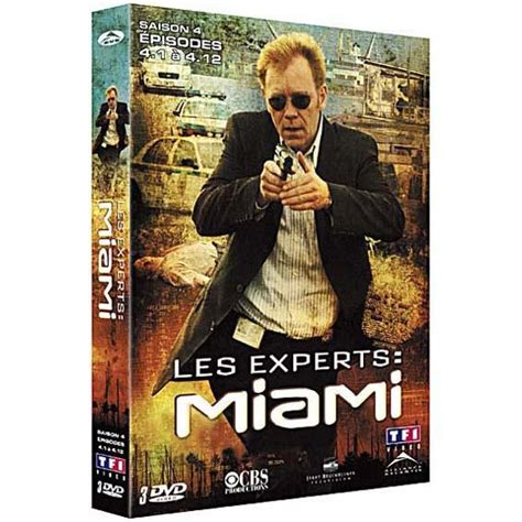 DVD Les experts Miami, saison 4, partie 1 en dvd série pas ...